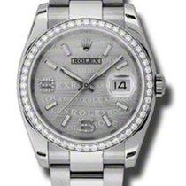 ロレックス (Rolex) Rolex Datejust 36mm - Steel White Gold Diamond...