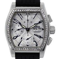 Ορίς (Oris) 7532 Miles Tonneau Diamond Bezel Chronograph Mens...