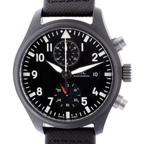 IWC Pilots Ceramics Black Automatic Chronograph Top Gun IW389001
