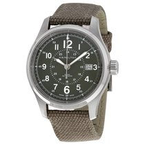 Hamilton Khaki Field Men's Canvas Strap Watch H70595963