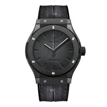 Hublot Classic Fusion Hub1100 Berluti All Black Mens Watch Ref...