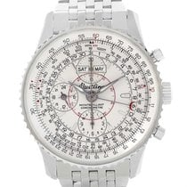 Breitling Navitimer Montbrillant Datora Watch A21330 Box Papers