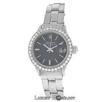 Rolex Ladies Rolex Oyster Perpetual 6519 Date Diamond Steel 26MM