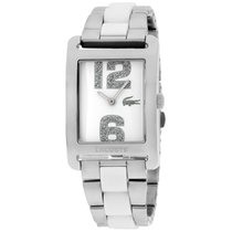 Lacoste Andorra White Dial Stainless Steel Ladies Watch 2000650
