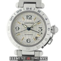 Cartier Pasha Collection Pasha GMT Stainless Steel 35mm Automatic