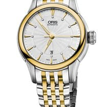 Oris Artelier Date Diamonds Steel/Gold Case and Bracelet
