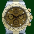 Ρολεξ (Rolex) Daytona Cosmograph 116523 Gold Steel Diamonds...
