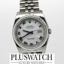 Rolex Datejust 116234 2015 Oyster Perpetual white dial