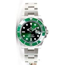 Rolex Submariner 116610 Heavy Band Green Cerachrom Bezel and...