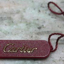 Cartier vintage tag red plastic newoldstock