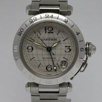 "Cartier ""Pasha GMT Automatic"" Steel 35,3mm. case"