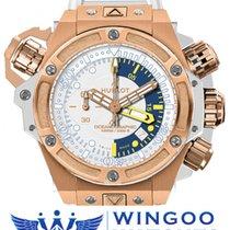 Hublot - King Power Oceanographic 1000 King Gold Bianco Ref....
