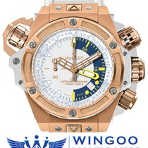 Hublot - King Power Oceanographic 1000 King Gold Bianco Ref....