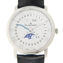 Blancpain Villeret Stainless Steel White Automatic 6654A-1127-55B