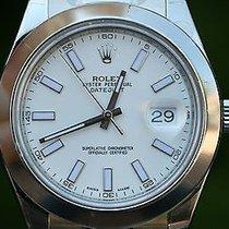 ロレックス (Rolex) Mens Datejust Ii Stainless Steel 116300 41mm...