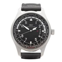 IWC Pilot's WorldTimer Stainless Steel Gents IW326201 -...