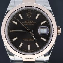 Rolex Datejust II Gold/Steel Oyster Strap Choco Dial 41MM Full...