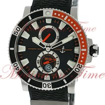 "Ulysse Nardin Maxi Marine Diver ""Orange"", Black Dial -..."