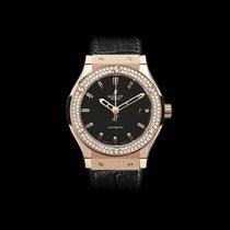 Hublot Classic Fusion King Gold Diamonds 38mm 565.OX.1180.LR.1104