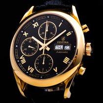 Zenith El Primero 18kt. Gold Chronograph Automatic Date Limited
