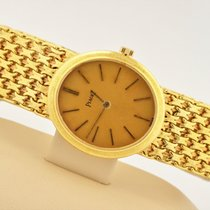 Piaget 18k Yellow Gold Oval Manual Wind Watch 9821 Caliber 9p2