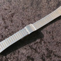 Zenith 19mm Watch Bracelet Stahl Gold Armband Band New Old...