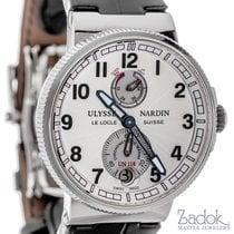 Ulysse Nardin Marine Chronometer 43mm Automatic Watch White...