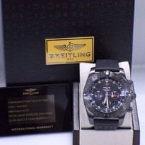 Breitling Gmt Chronomat Mb0413 Black Pvd Steel 5 Year Warranty...
