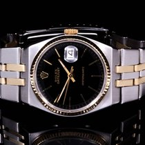 Rolex 17013 Two-Tone Oyster Quartz w/ Black Stick Dial