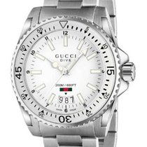 164fcf4fa87 Gucci G-chrono White Dial Stainless Steel Men s Watch Ya101345 for ...