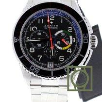 Zenith El Primero Stratos Flyback Chronograph Rainbow 03206140...