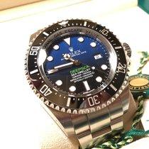 Rolex Sea Dweller Deep Blue Deepsea NEU&VERKLEBT 116660