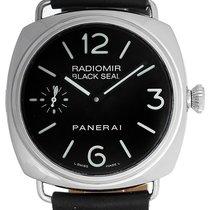 Panerai Radiomir Black Seal Men's Steel Watch PAM 00183