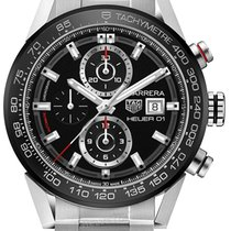 TAG Heuer CARRERA Calibre HEUER 01 Stainless Steel Auto...
