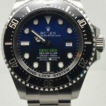 Rolex Sea-Dweller Deepsea D-BLUE NEW FULL SET 5 YEARS WARRANTY