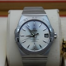 Omega 123.10.38.21.02.001 Constellation Slv Dial  Co-Axial (38mm)