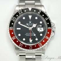 Rolex GMT MASTER II STAHL 16710 T COKE AUTOMATIK
