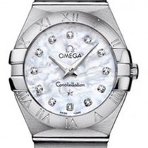 Omega 123.10.27.60.55.001 Constellation Small 27mm in Steel -...