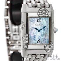 Jaeger-LeCoultre Ladies  Reverso 18k White Gold Quartz Watch...