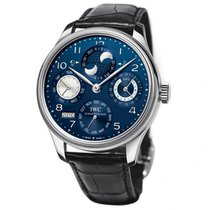 IWC Portuguese Perpetual Calendar Hemisphere Blue Dial 44.2mm