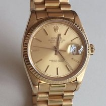 Rolex Datejust President 18k Gold 36mm 16018