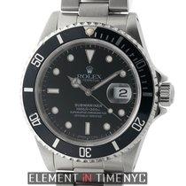Rolex Submariner Stainless Steel Black Dial