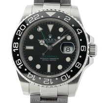 Rolex GMT-Master II Ceramic Stainless Steel Black Dial 40mm