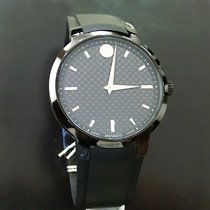 Movado Gravity Black Carbon