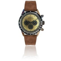 Out Of Order Cronografo Brown Cream 42 mm