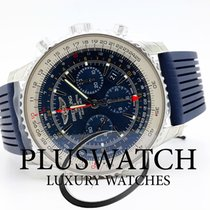 Breitling Navitimer Aurora Blue GMT AB04411A/C937/258S NEW