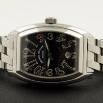 Franck Muller Conquistador Date Steel Black Dial 48 x 35 mm...