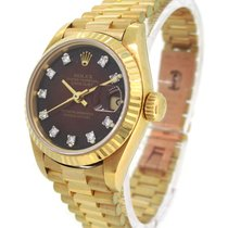 Rolex Oyster Perpetual Datejust 18K Gold 69178G, Orig. Diamond