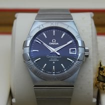 Omega 123.10.38.21.01.001 Constellation Co-Axial Blk Dial