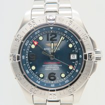 Breitling Superocean Steelfish GMT (FULL SET)
